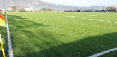 Σημειακά και γραμμικά βυθίσματα  στο γήπεδο Δυτικής Παραλίας