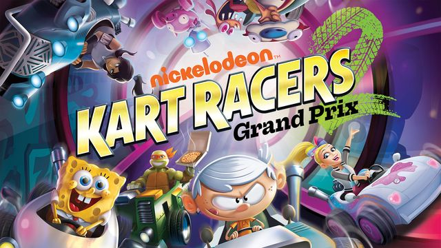 Nickelodeon Kart Racers 2: Grand Prix v1.0.1 NSP XCI For Nintendo Switch
