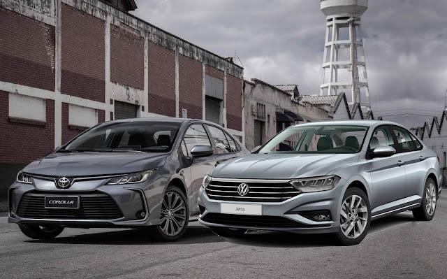 Novo Corolla 2020 2.0 x Jetta x Cruze x Civic