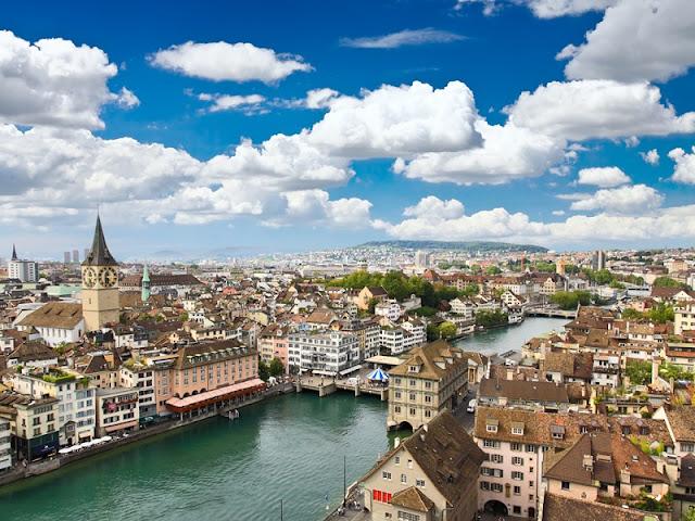 Clima e temperatura em Zurique | Suiça