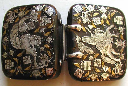 Silver Mounted Tortoiseshell Box
