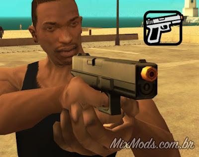 gta sa mod airsoft glock 18c aep