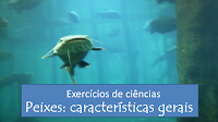 Exercícios sobre as características gerais dos peixes