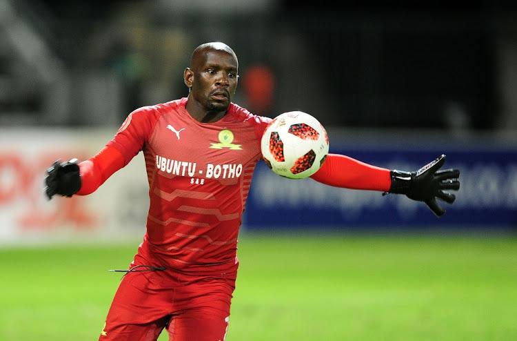 Mamelodi Sundowns goalkeeper Kennedy Mweene