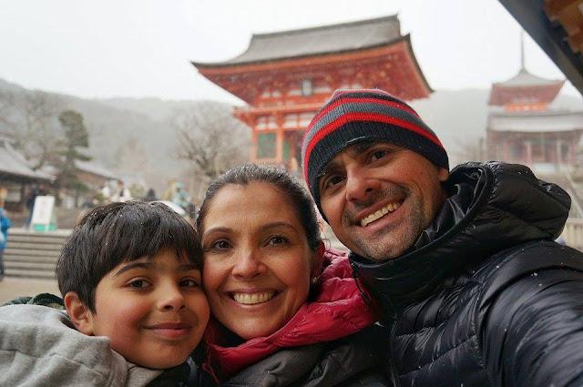 Templo Kiyomizu-dera em Quioto