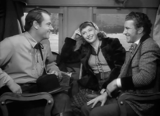 1939. Joel McCrea, Barbara Stanwyck, Robert Preston - Union Pacific