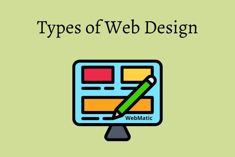 types of web designs