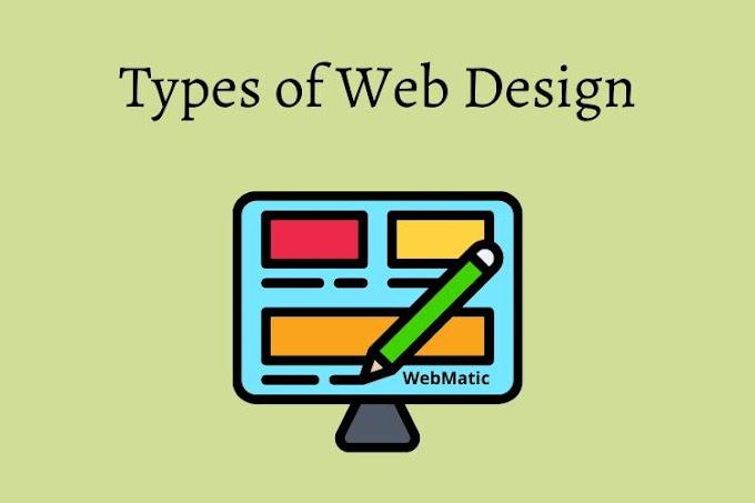 5 Types of Web Designs
