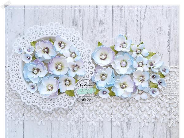 Foamiran Jewel Handmade Flowers