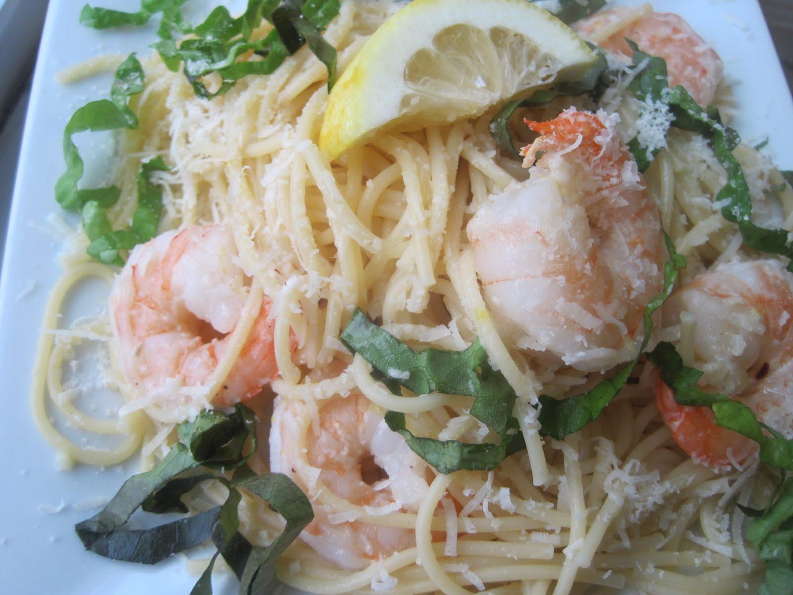 Ina Garten Shrimp Linguine Taste The Rainbow Shrimp Scampi Over Linguine Adapted