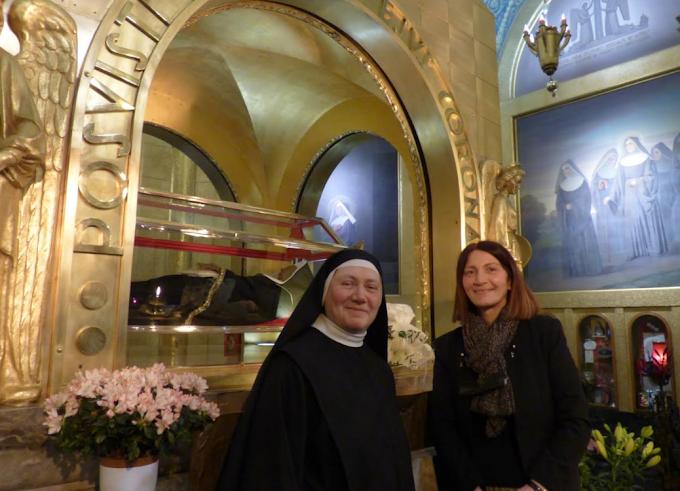 Monastero Santa Rita, prima laica nella comunità