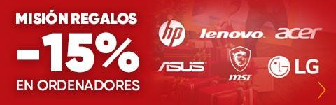 Top 5 ofertas Misión regalos, -15% en selección de ordenadores de Fnac.es
