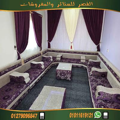 قعدة عربي مجلس عربي  موف مشجر في بيج سادة  من احدث انتاجنا