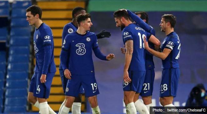 Highlights: Chelsea Ditahan Imbang Aston Villa 1-1