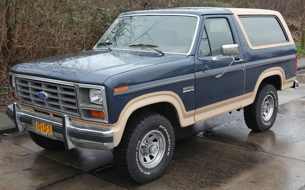 Scale Model News 2021 Ford Bronco Revealed A Chance For A Scale