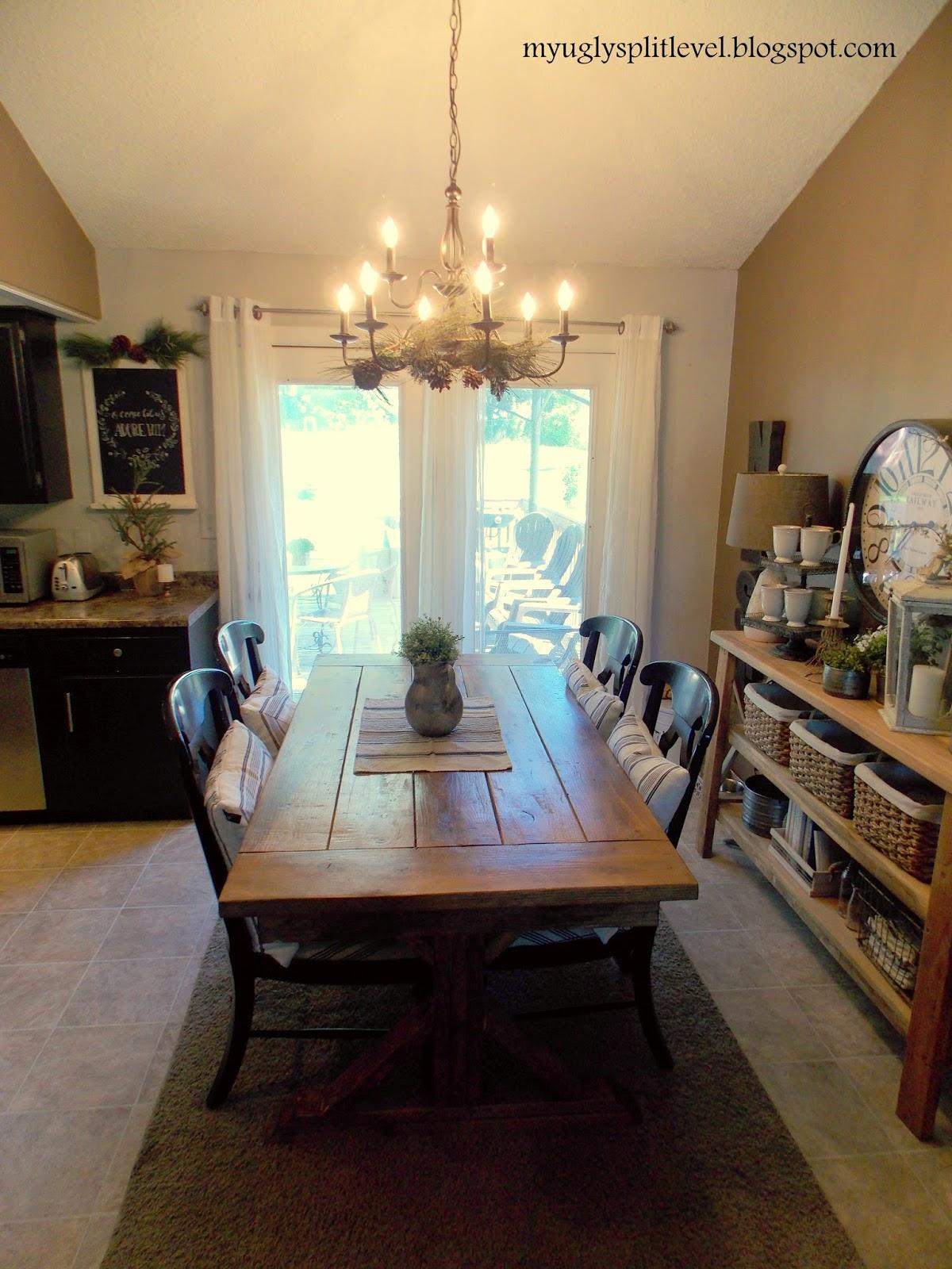 My Ugly Split-level: Dining Room. Finally.