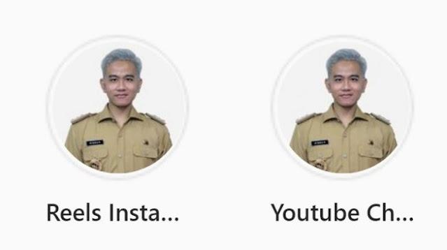 Rambut Gibran Berubah Putih di Instagram, Jadi Cawapres Ganjar di Pilpres 2024?