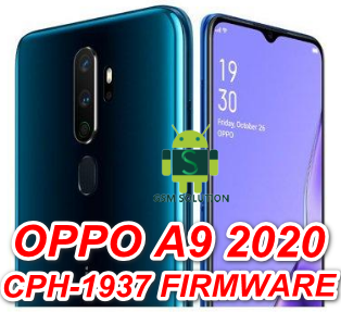 Oppo A9 2020 CPH1937 A27 Offical Firmware Stock Rom