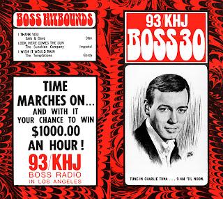 KHJ Boss 30 No. 132 - Charlie Tuna