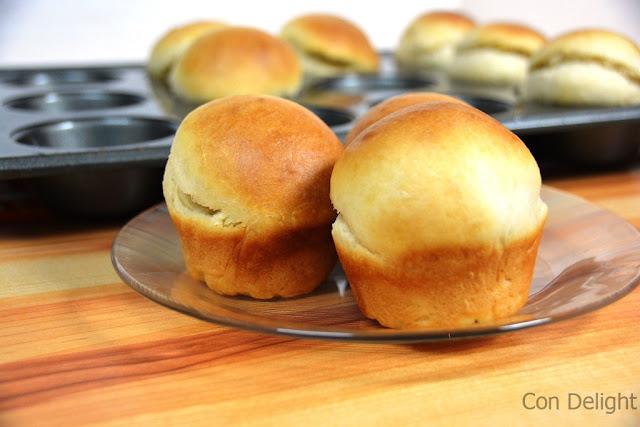 butter buns לחמניות חמאה
