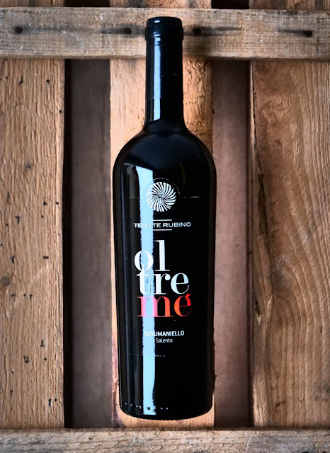 Der italienische Rotwein Oltreme