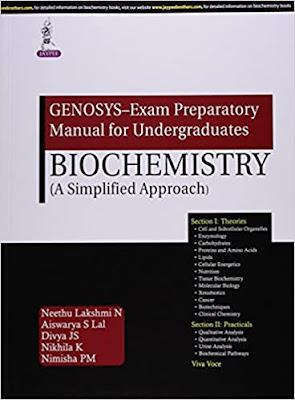 Genosys-Exam Preparatory Manual For Undergraduates Biochemistry (A Simplified Approach) pdf free download