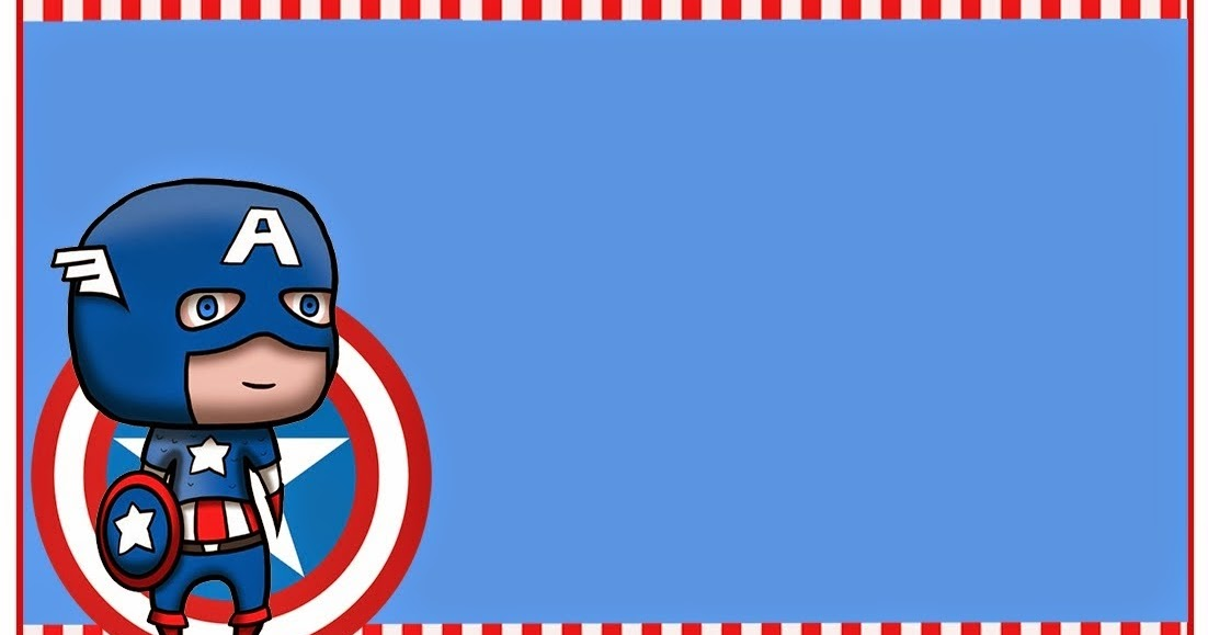 Captain America Baby Free Printable Kit Oh My Fiesta