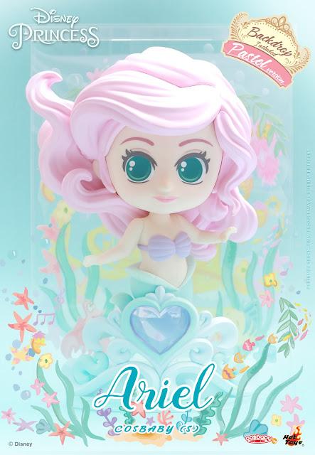 Disney, Hot Toys, Disney Princess, Cosbaby, 迪士尼公主, Snow White, Cinderella, Aurora, Ariel, Belle,  Rapunzel
