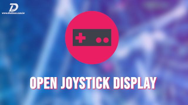 Open Joystick Display exibe os botões do seu controle na tela