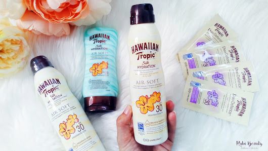 Hawaiian Tropic | Duo Defence, protección solar anti-polución.