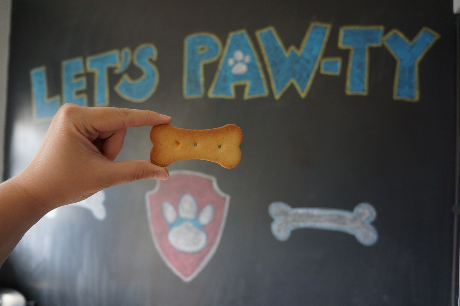 paw patrol honey biscuits