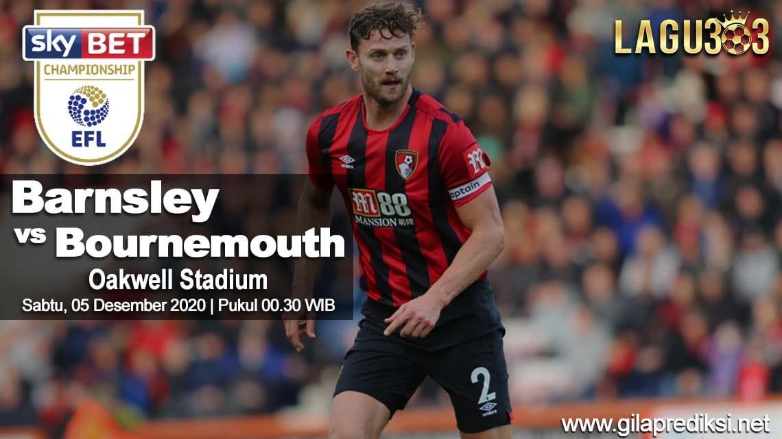 Prediksi Barnsley vs AFC Bournemouth 05 Desember 2020 pukul 00.30 WIB
