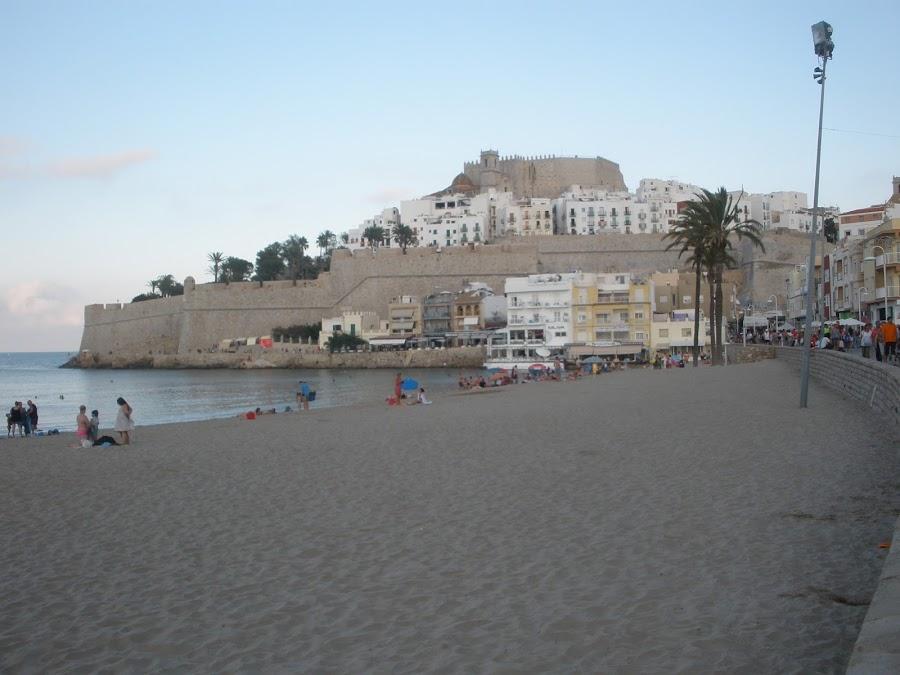 Castillo Palacio de Peñíscola, también conocido como Castillo del Papa Luna.