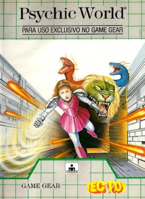 Jogo retro online Psychic World Game Gear