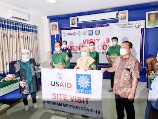 RS PKU Muhammadiyah Mayong Terima Tim Visitasi Mentari Covid 19