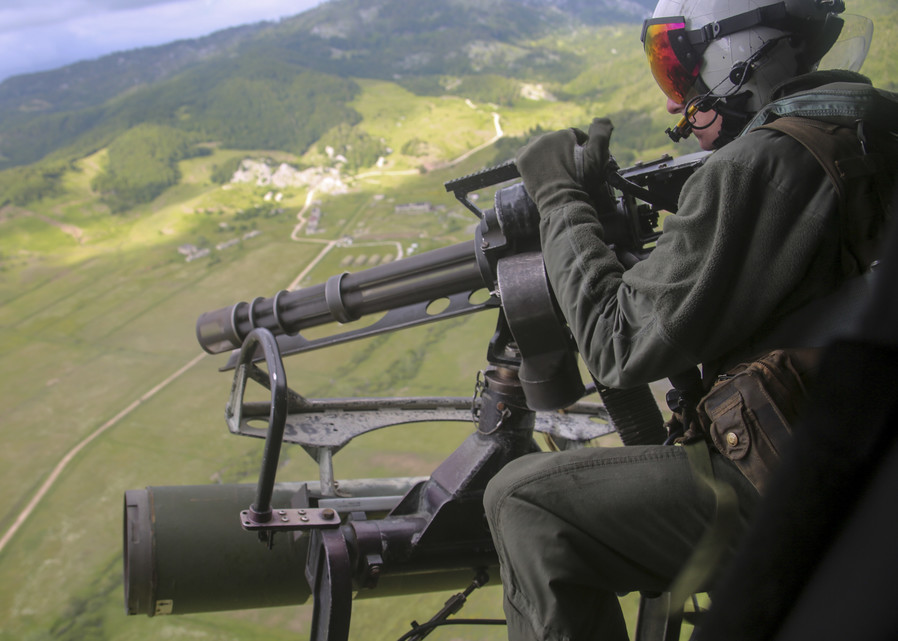 U.S. Marine Corps Conduct Firing Exercise In Albania