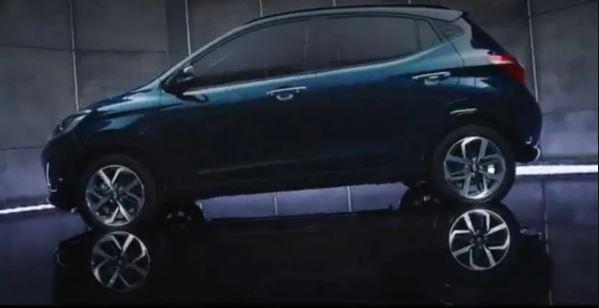 All new Hyundai Grand i10 Nios Full View Side View