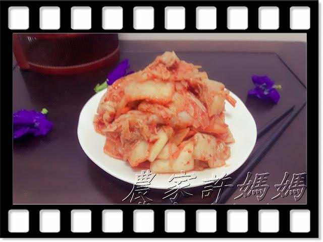 農家許媽媽-健康快速韓國泡菜-001