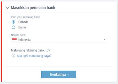 Cara Menambahkan Bank Ke Payoneer 4