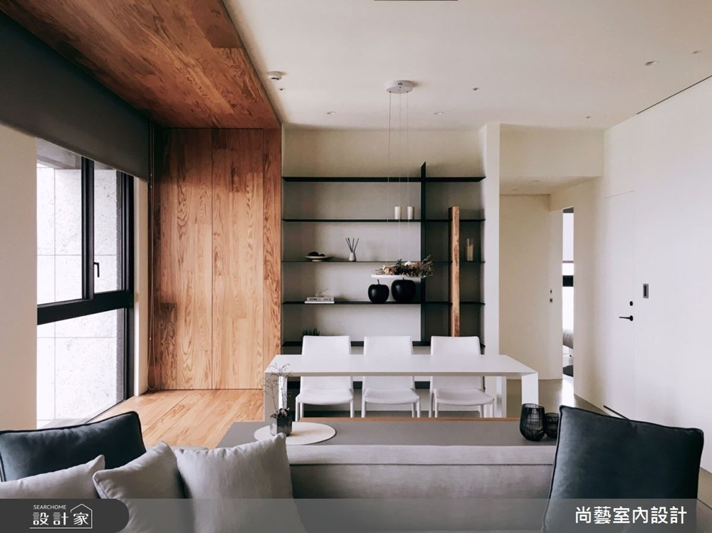 裝潢,木質裝潢,德屋海島型實木地板,客廳,反轉,德屋建材,天然