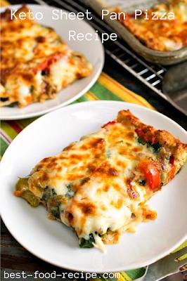 Keto Sheet Pan Pizza Recipe