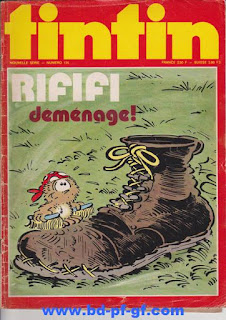 L'Hebdoptimiste, Tintin numéro 135, 1975