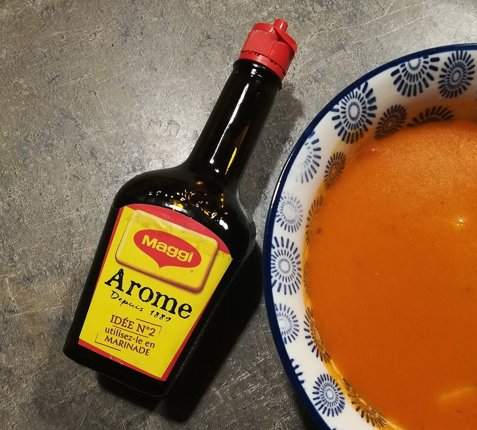 L'Arôme Maggi / Recette du gaspacho
