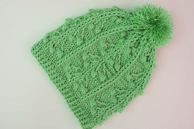 6-Crochet Imagen Gorro a conjunto con jarsey a crochet y ganchillo por Majovel Crochet