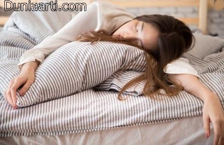 Cewek Cantik Tidur