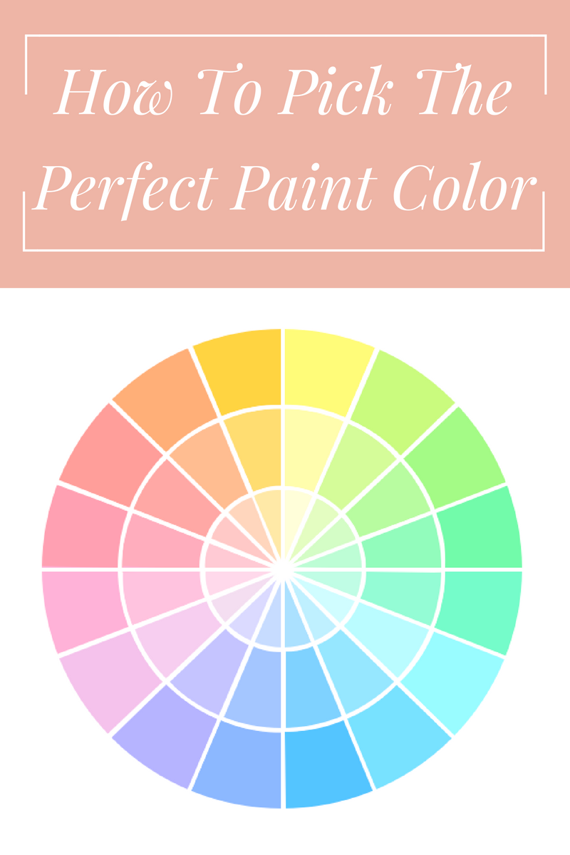 She 39 s domestic how to pick the perfect paint color for How to pick paint colors
