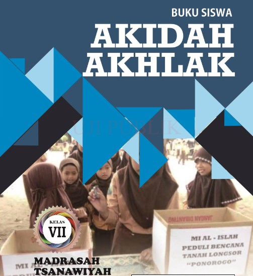 Buku Akidah Akhlak MTs Kelas 7-KMA 183 2019