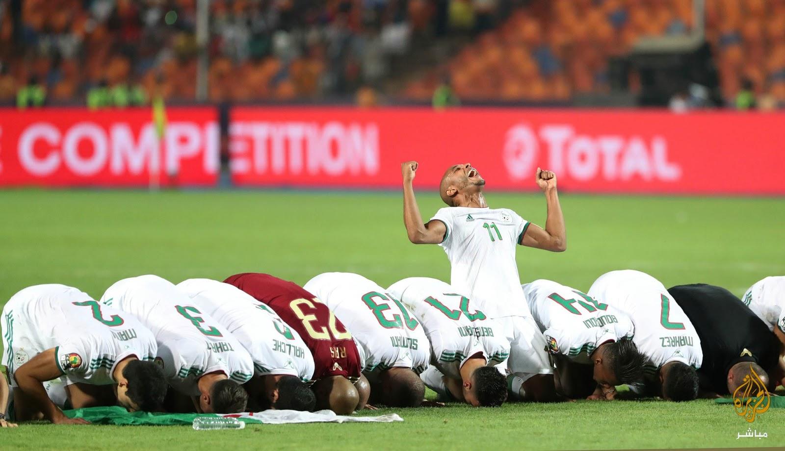 Sawiro: Algeria Oo Markii Labaad Taariikhda Ku Guuleystay Koobka Qaramada Afrika , Senagal Ayay Ka badiyeen