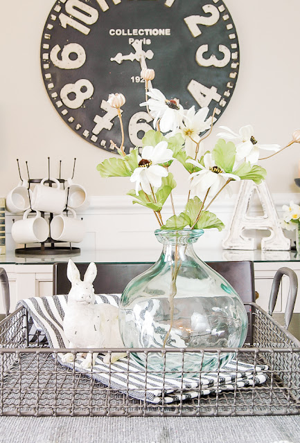How to Decorate for Spring with Dollar Tree items