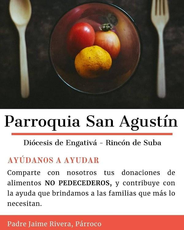Donaciones Parroquia San Agustín - Cuaresma 2021